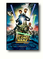 The Clone Wars Movie Poster